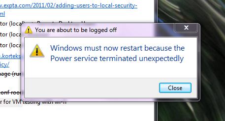 Power Failure... Not!