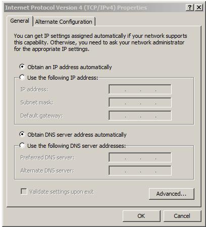 IPv4 Properties