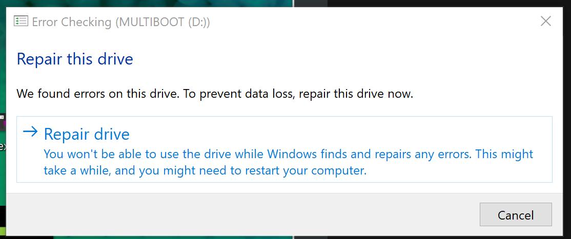 Er... repair?